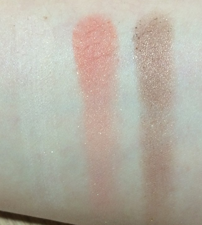 Too Faced Sugar Pop Palette Swatch Sweet & Spicy