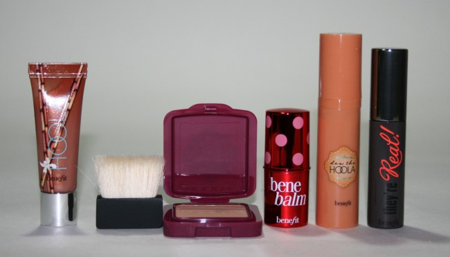 Benefit 5 Piece Do the Hoola Kit Contents