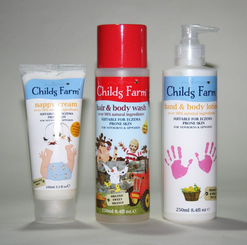 Teddy: Childs Farm Body Products