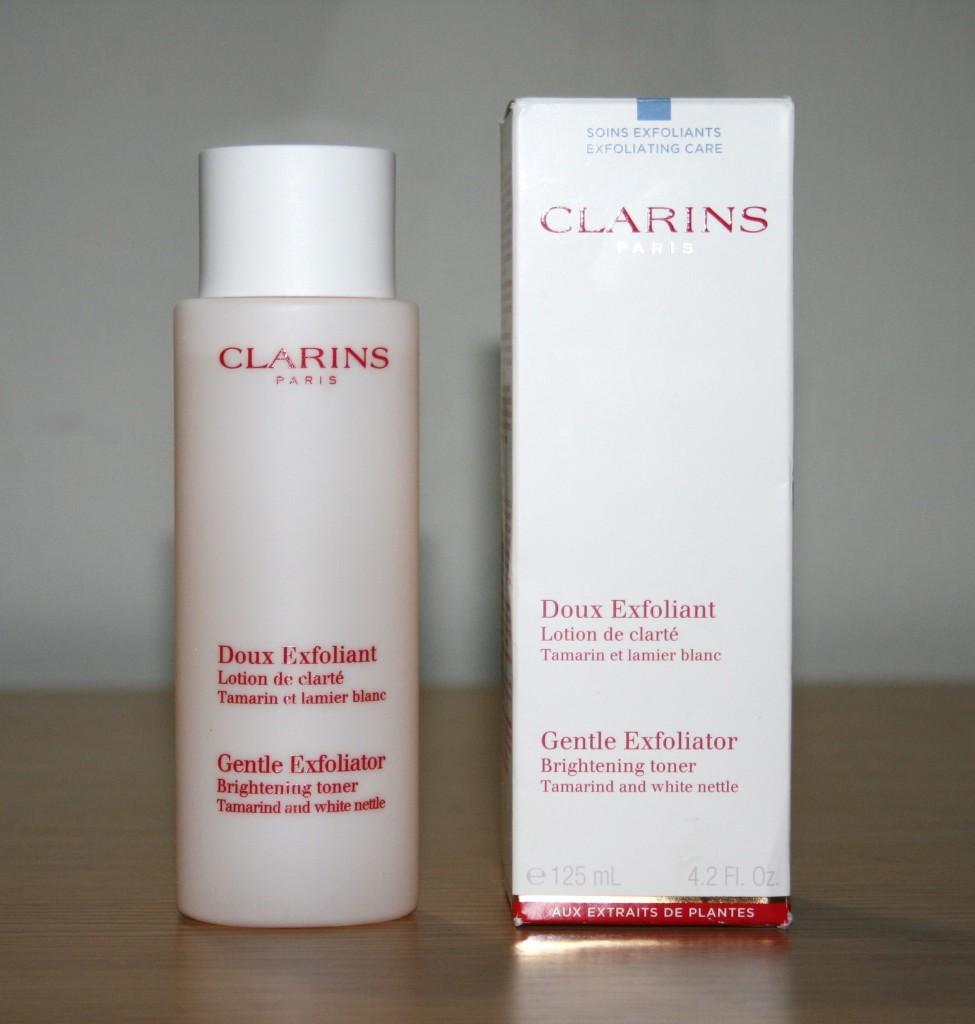 Quick Pick Tuesday: Clarins Gentle Exfoliator Brightening Toner