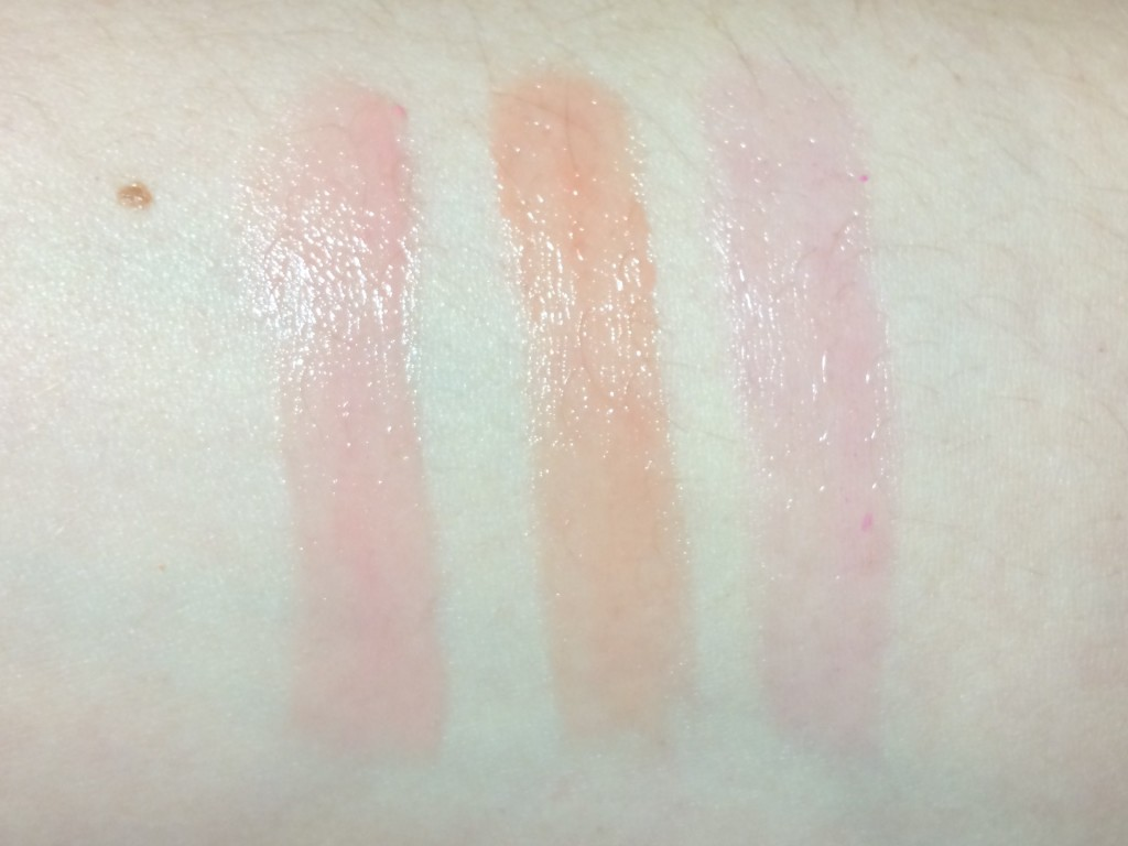 Clarins Instant Light Natural Lip Balm Perfectors Rose, Coral, My ...