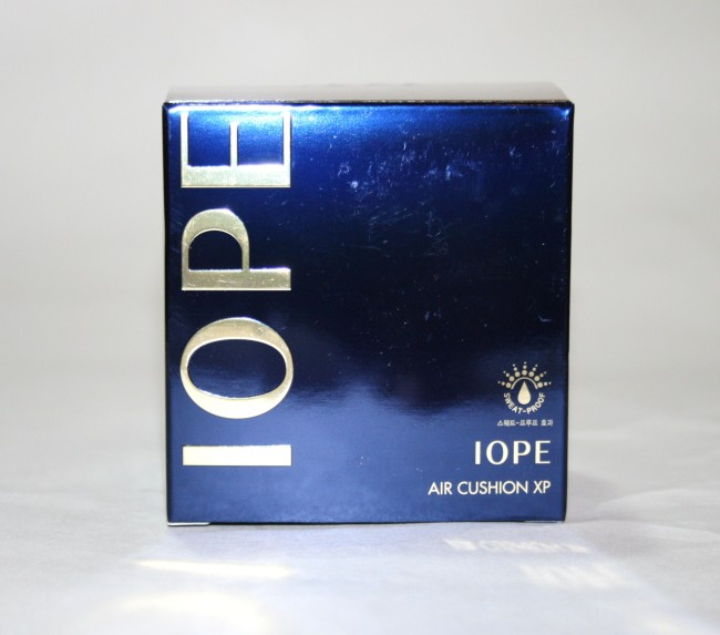 Iope Air Cushion XP SPF50 Foundation outer packaging
