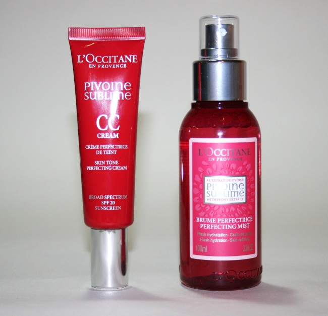 L'Occitane Pivoine Sublime Mist and CC Cream review