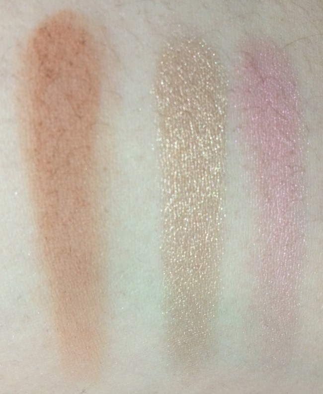 Pixi Palette Bronzette Swatches Bronzer, Highlighter, Blusher