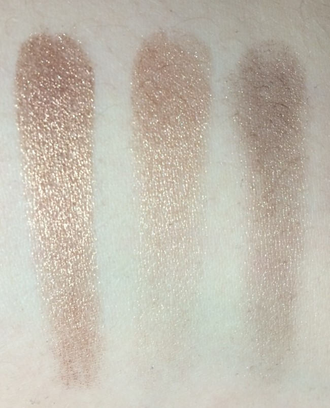 Pixi Palette Bronzette Swatches Crease Shadows