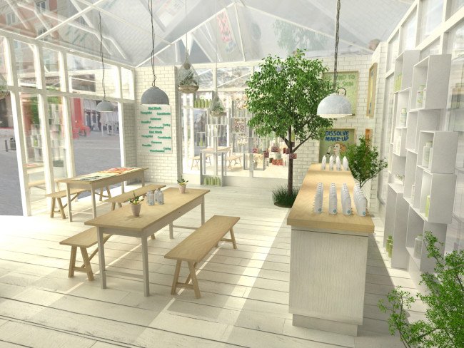 The #KindIsSimple Store View 2 - Indoor