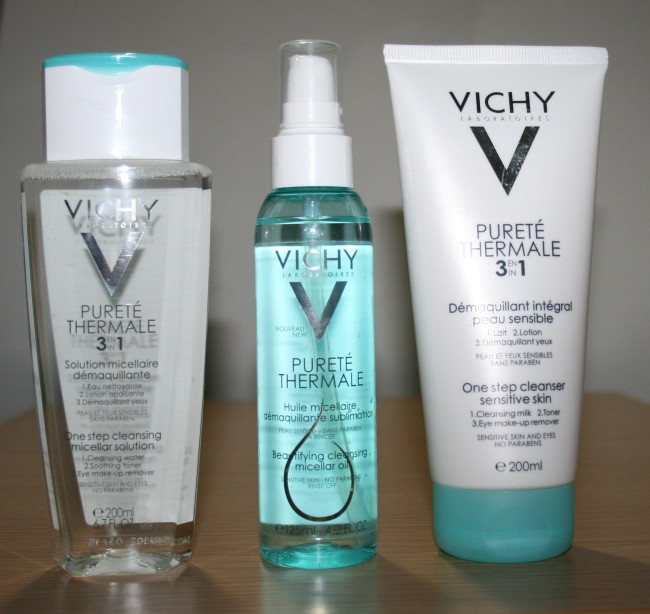 Vichy Purete Thermale Cleansers