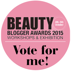 Beauty Blogger Awards 2015