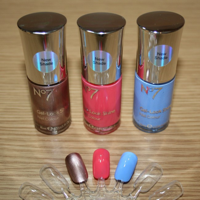 Boots No7 SS15  Polishes