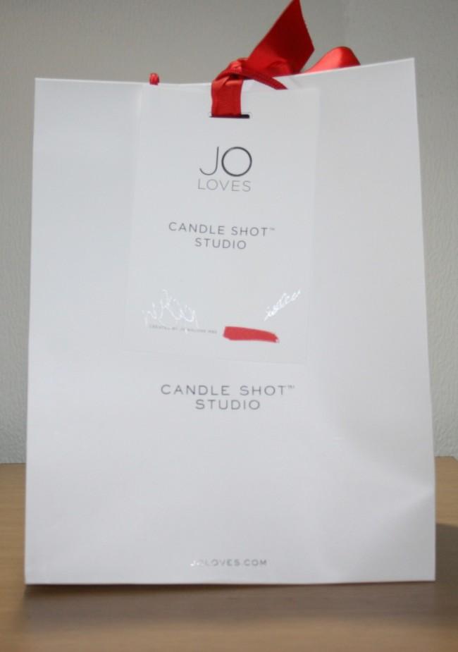 Jo Loves Shot Candle Bag