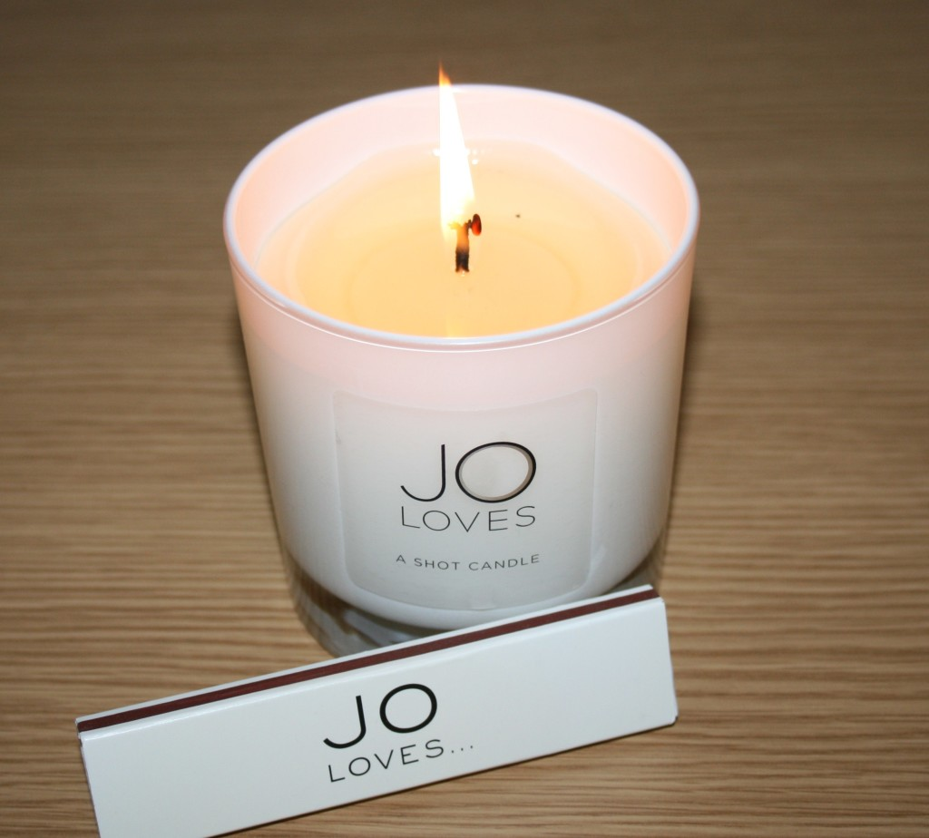 Jo Loves Shot Candle: Salted Caramel and Fig Trees
