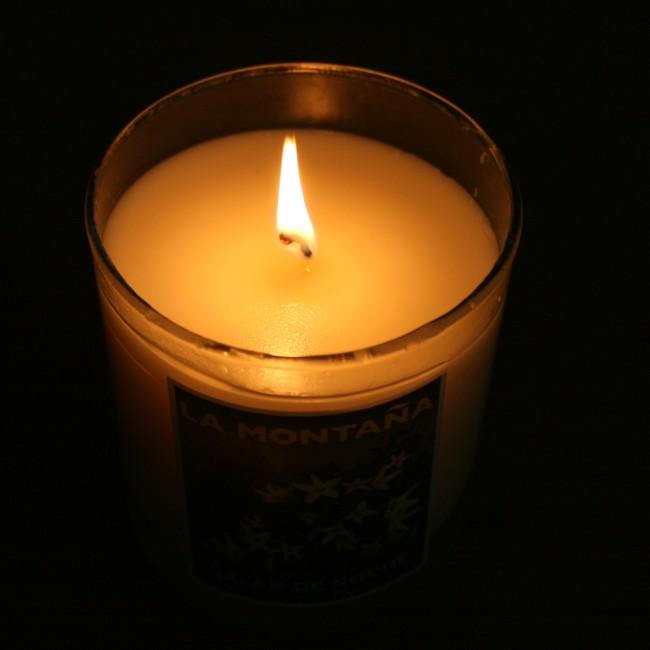 La Montana Galan de Noche Candle Dark