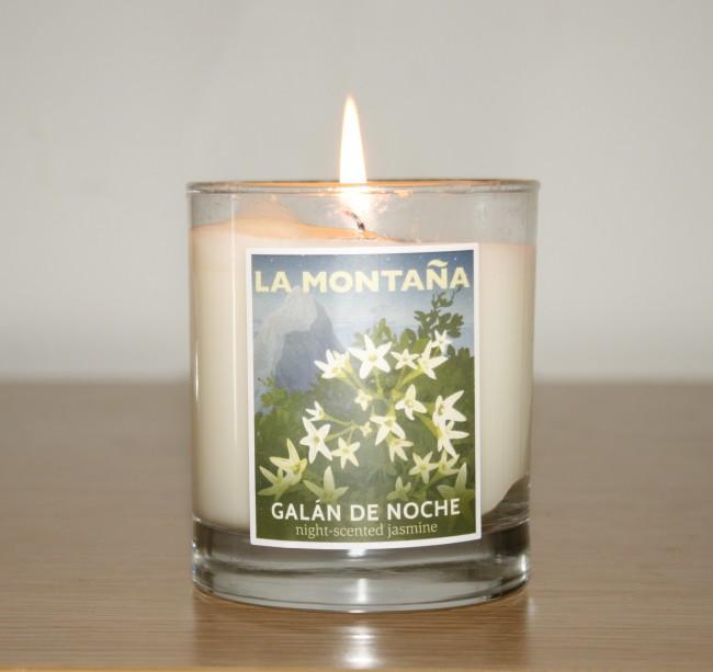 La Montana Galan de Noche Candle Review