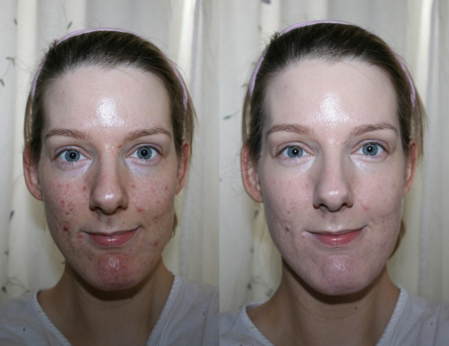 Laneige Pore Control BB Cushion Foundation Before and After