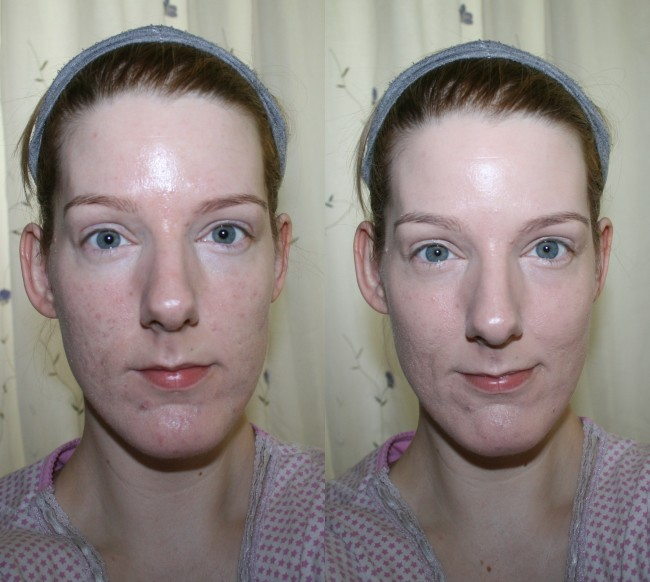 Max Factor Miracle Touch Liquid Illusion Foundation Before and After