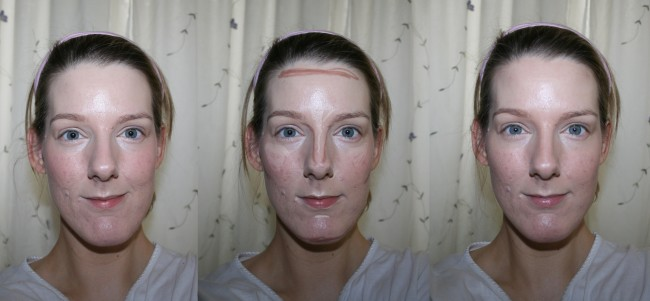 Neve Cosmetics Contourmania Before and After