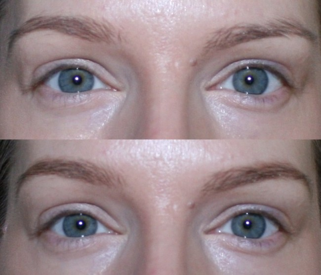No7 Beautiful Eyebrow Kit  Before and After