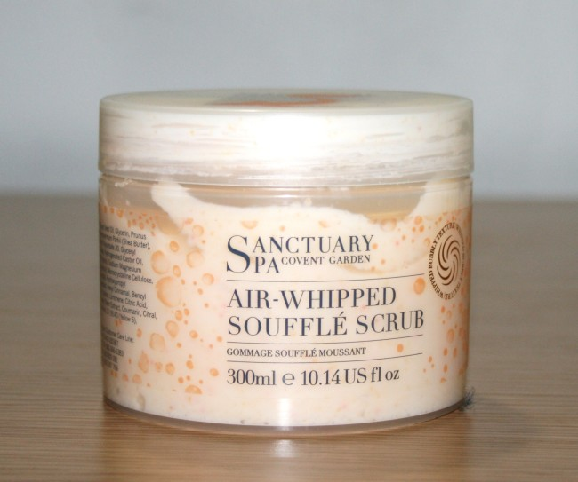 Sanctuary Spa Air-Whipped Souffle Scrub