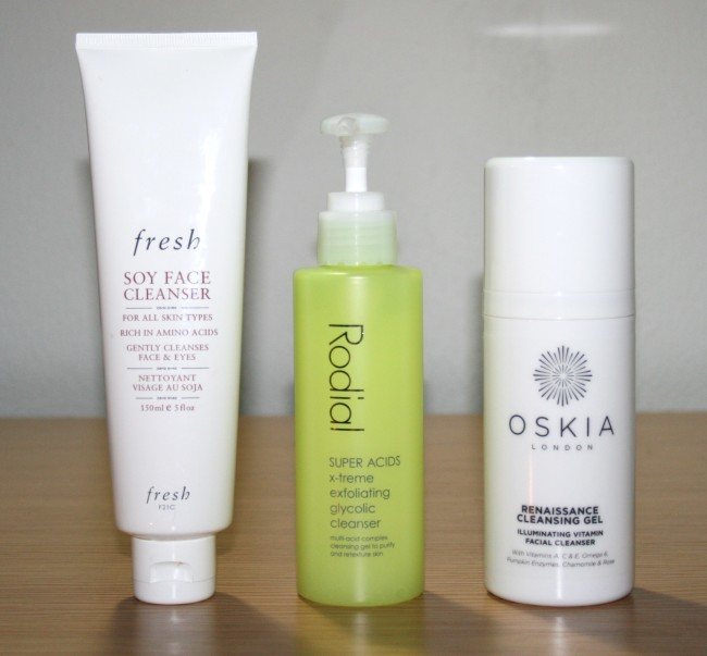 Three New Cleansers