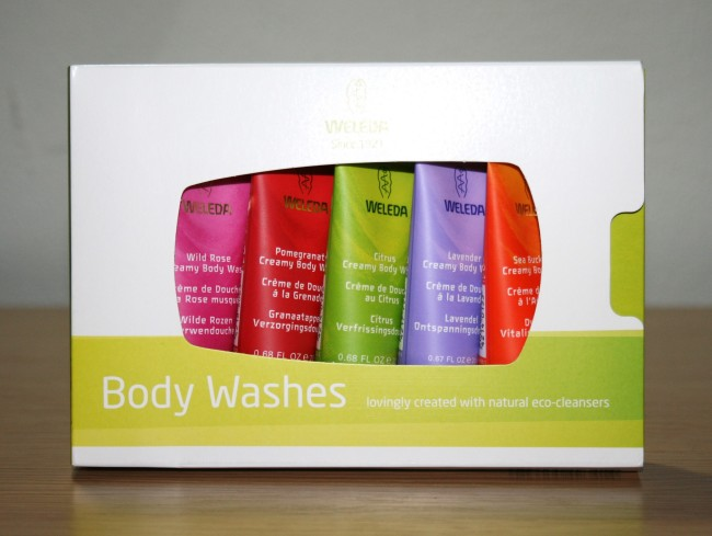 Weleda Mini Body Wash Gift Set