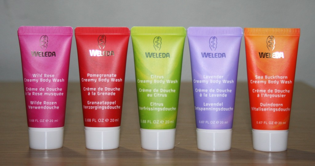 Quick Pick Tuesday: Weleda Mini Body Wash Gift Set