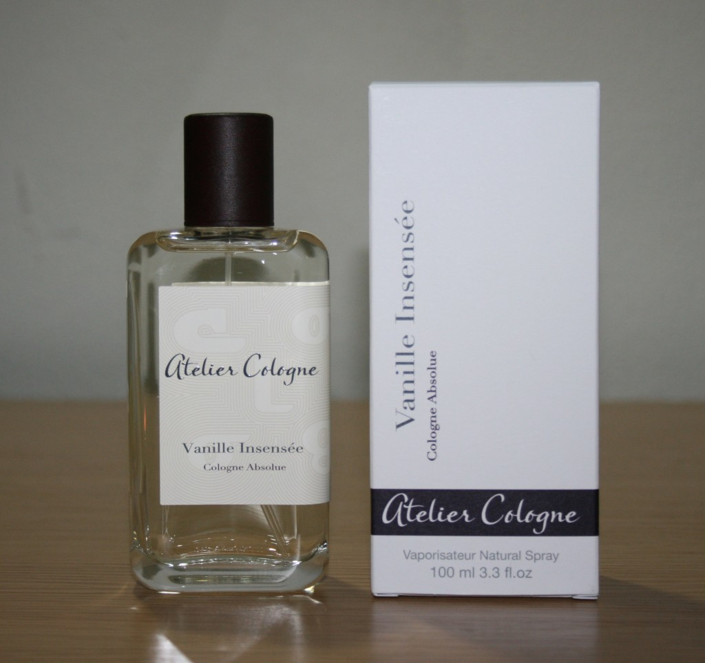 Fragrance Friday: Atelier Cologne's Vanille Insensée Cologne Absolue