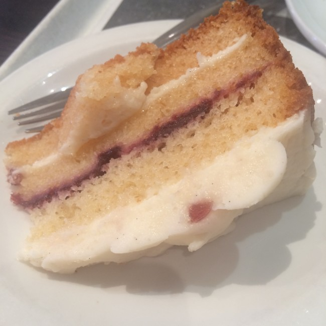 Costa Menu Sumer 2015 Cake
