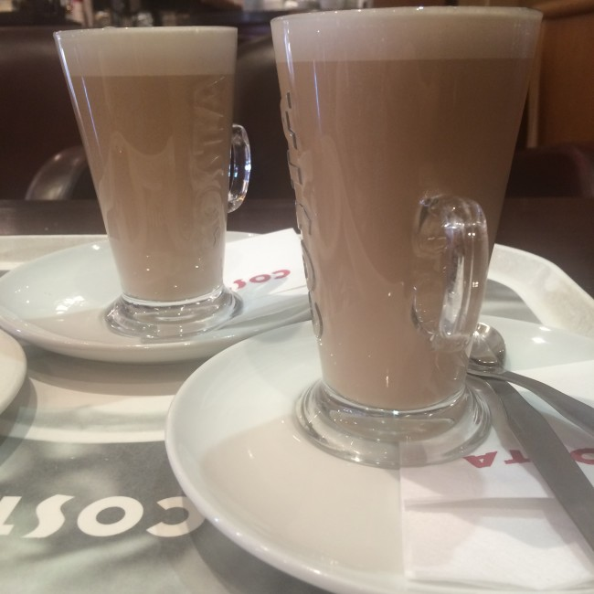 Costa Menu Sumer 2015 Caramel Latte