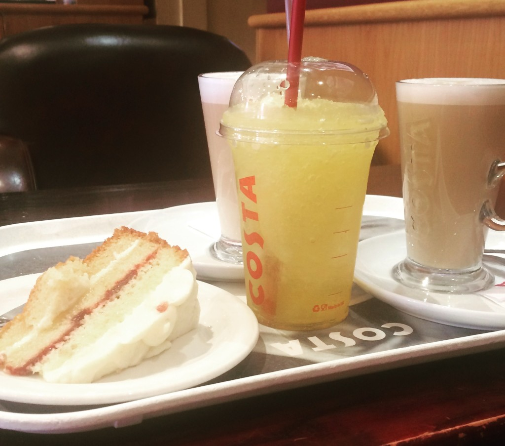 Costa Summer Menu 2015