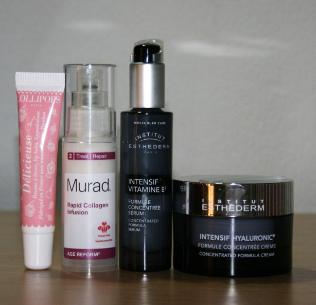 Current Skincare Routine July 2015 Hydrators Lollipops Murad Institut Esthederm