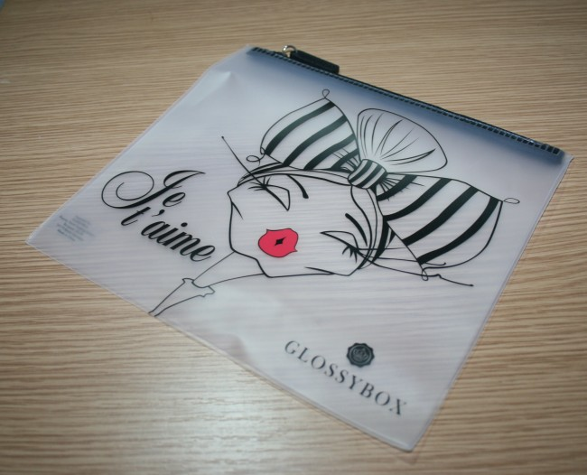 Glossybox July 2015 Travel Pouch