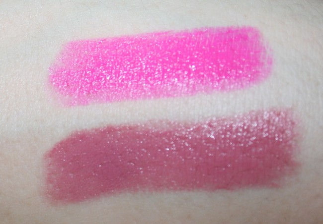 Pixi Matte Lustre Lipsticks Swatches