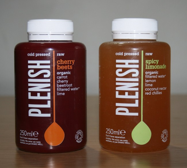 Plenish Cold Pressed Juices Fruit Review