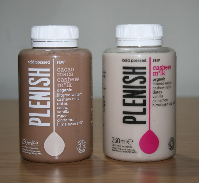 Plenish Cold Pressed Juices Milk Review