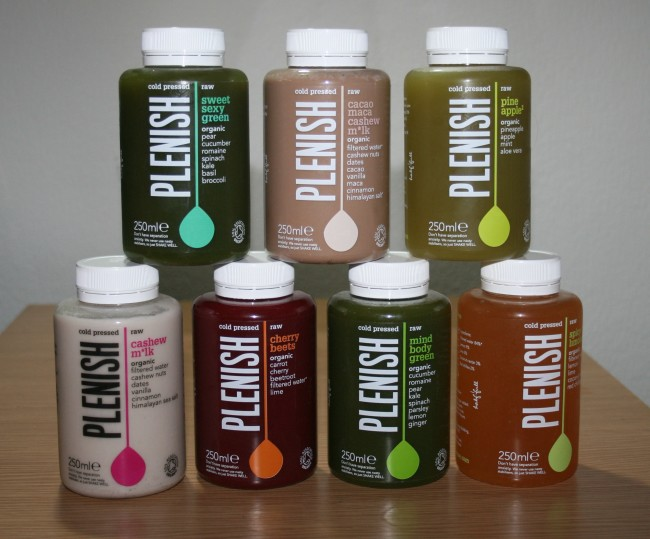 Plenish Cold Pressed Juices Review
