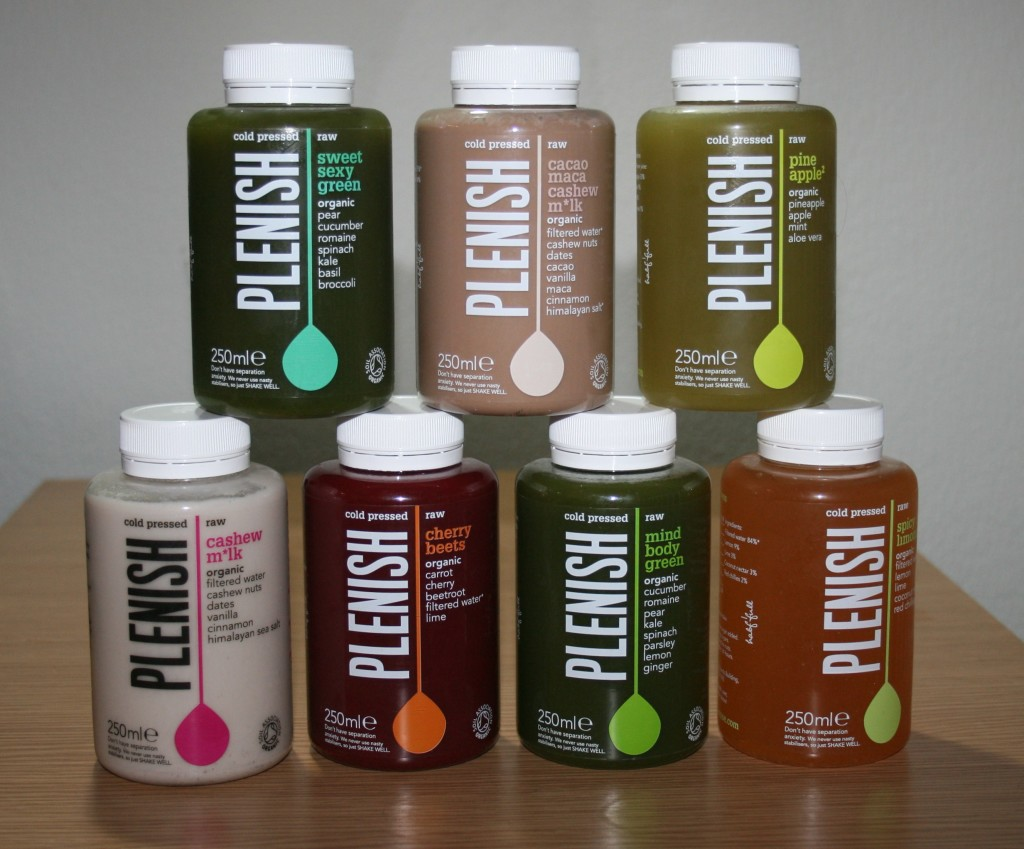 Health Hacks: Plenish Cold Pressed Juices