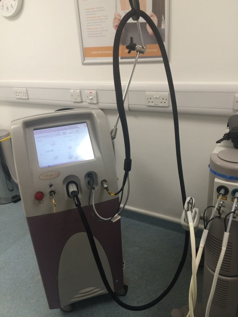 Pulsed Dye Laser at Sk:n Clinic – Treatments 1-3