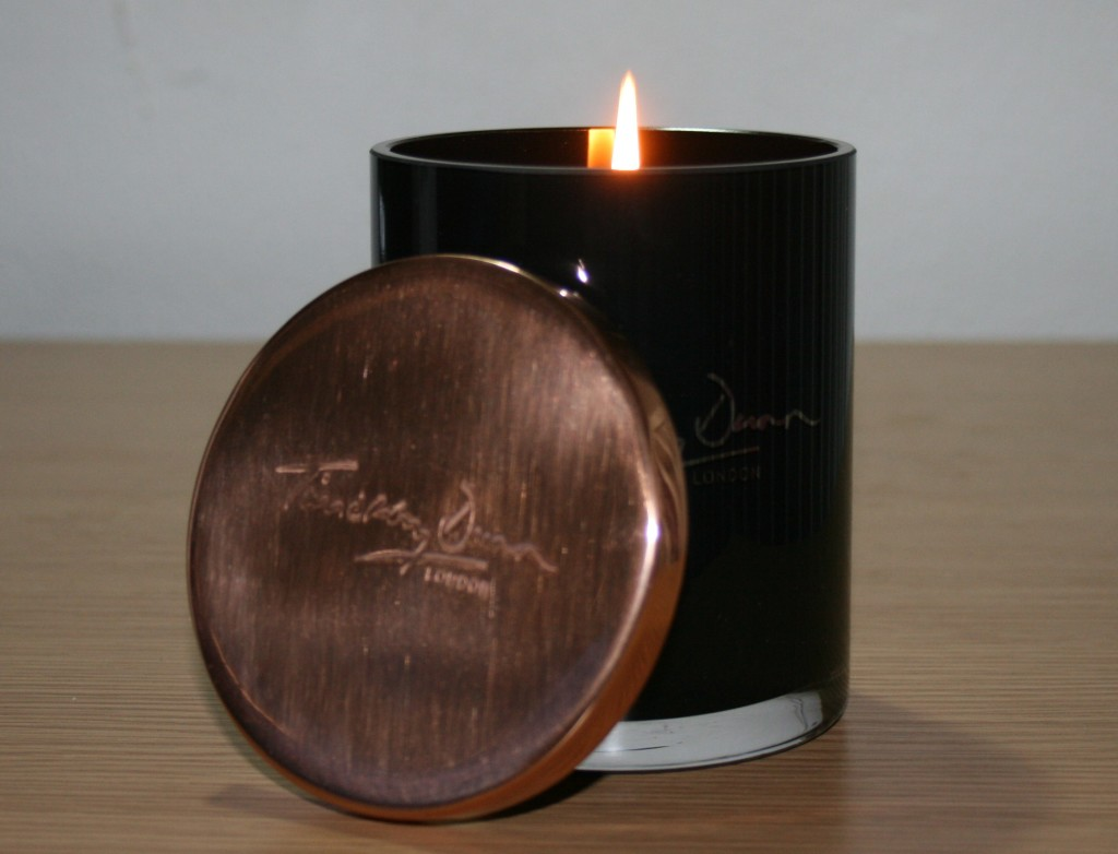 Timothy Dunn Violette De Lune Home Candle