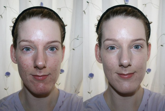 Gosh Foundation Drops Before and After
