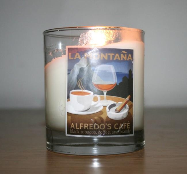 La Montana Alfredo's Cafe Candle  Reviews