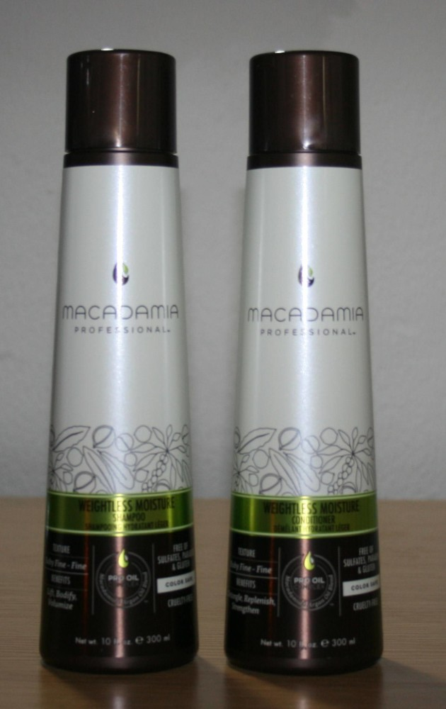 Macadamia Professional Weightless Moisture Shampoo and Conditioner Review