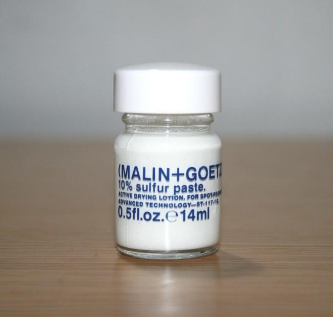 Malin + Goetz 10% Sulfur Paste Review