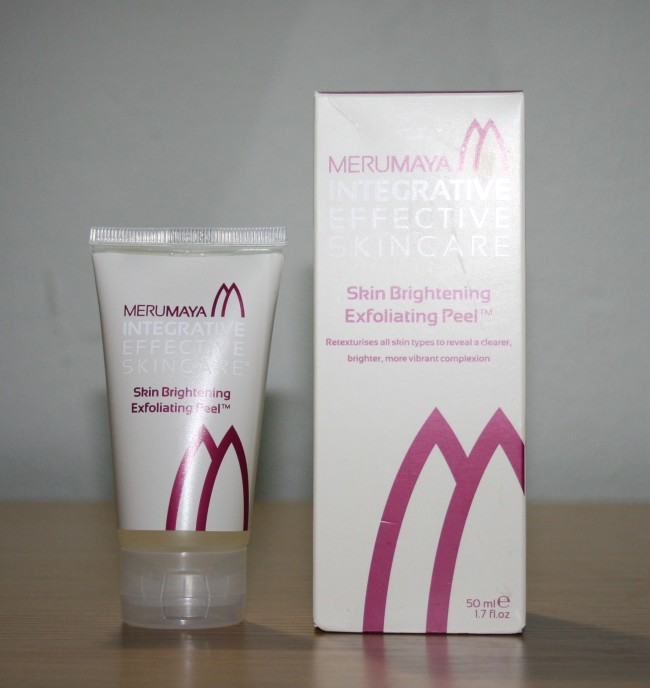 Merumaya Skin Brightening Exfoliating Peel Review