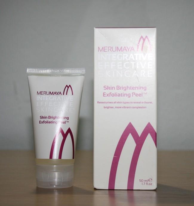 Merumaya Skin Brightening Exfoliating Peel Review