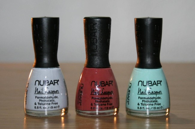 NUBAR POP COLLECTION Review