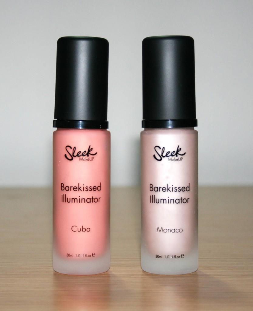 Sleek Makeup Barekissed Illuminator in Cuba and Monaco
