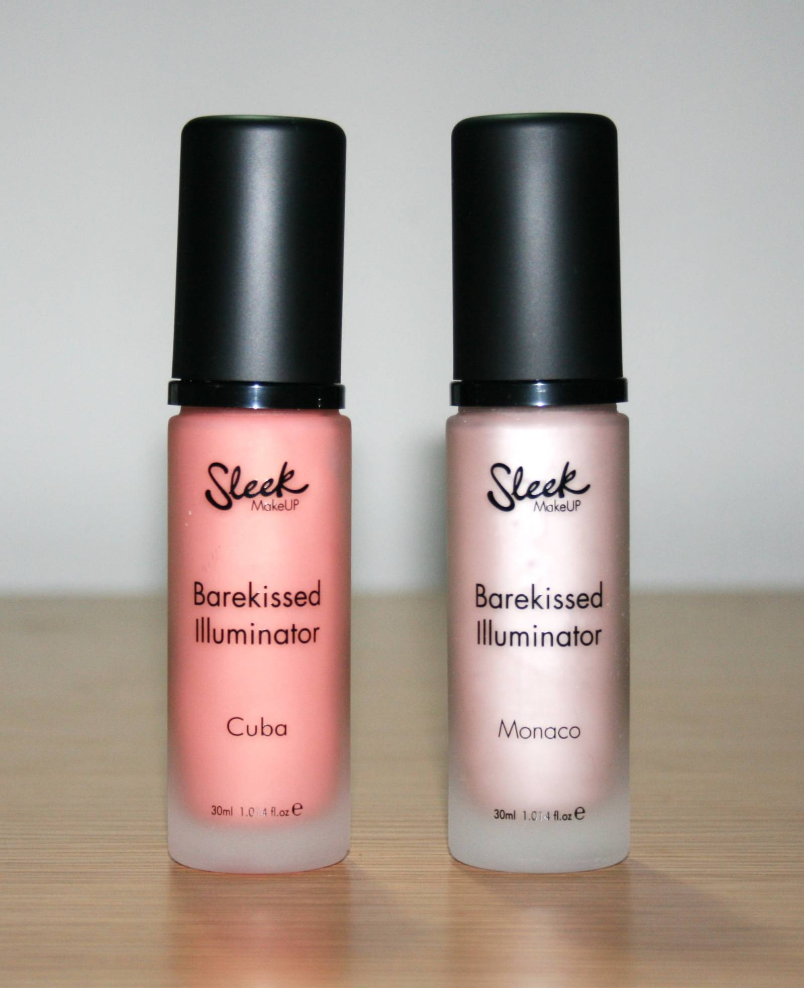 sleek makeup barekissed illuminator in cuba and monaco beauty geek uk