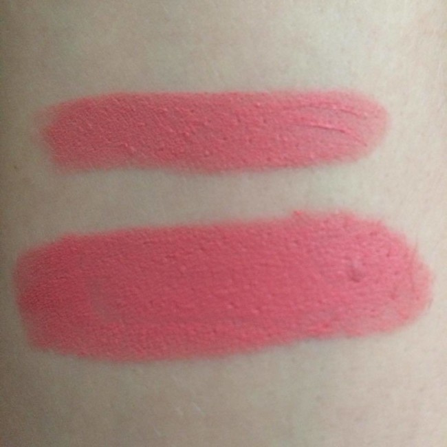 Smashbox Be Legendary Matte Lipstick Pink Paris Matte Swatches