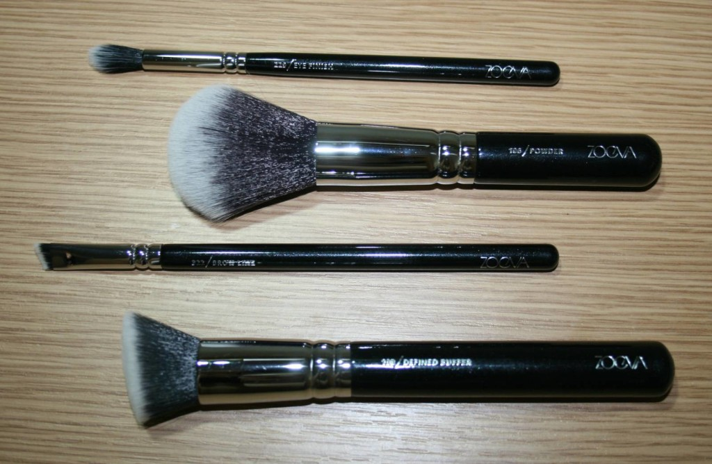 Zoeva Single Brushes – Eye Finish, Powder, Brow Line and Defined Buffer