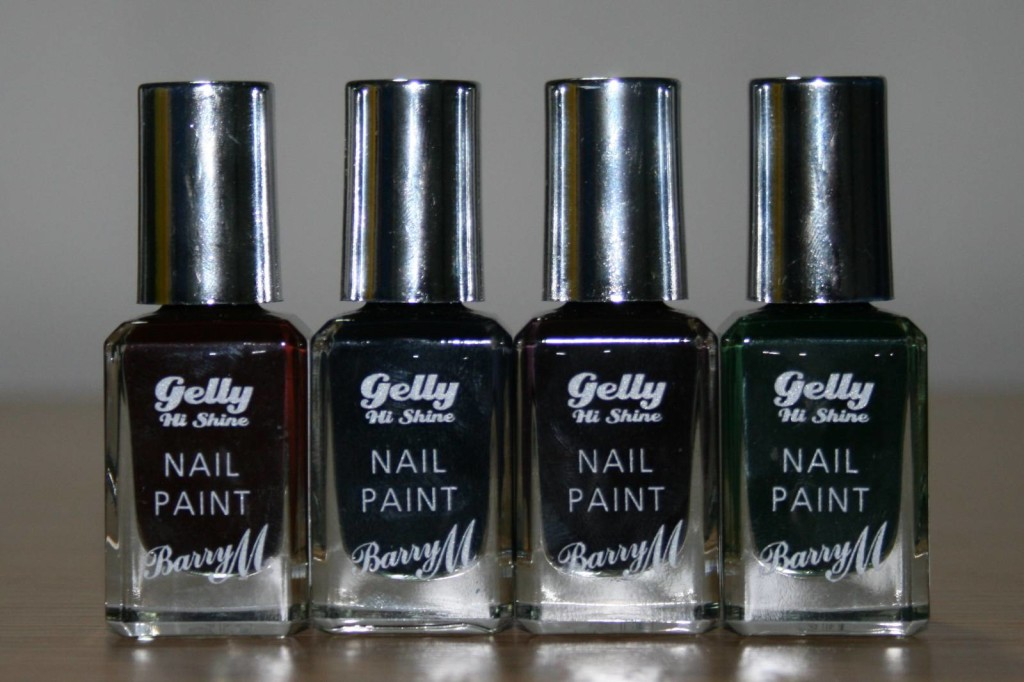 Barry M Midnight Gelly Collection Review